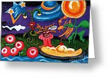 Planet Fantastic Greeting Card
