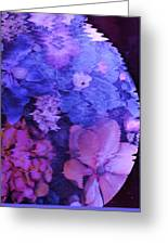 Planet Of Flowers Greeting Card
