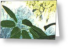 Plant Life Inside-outside Greeting Card