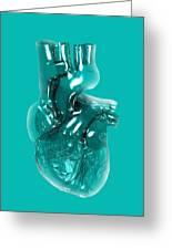 Plastic Artificial Heart, Artwork Greeting Card