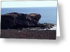 Playa Blanca Greeting Card