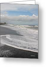 Playa Hermosa Morning Greeting Card