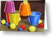 Playground  Greeting Card by Irina Sztukowski
