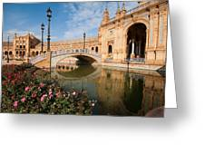Plaza Espana Greeting Card