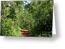 Pleasant Trail Greeting Card