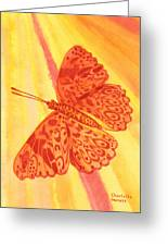 Pleasure Butterfly Greeting Card