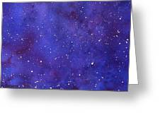 Pleiades Greeting Card by Sharon Farber