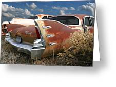 Plymouth Belvedere Greeting Card