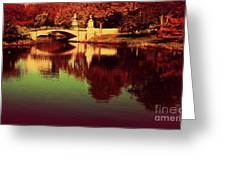 Pocket Of The City Greeting Card by Dana DiPasquale