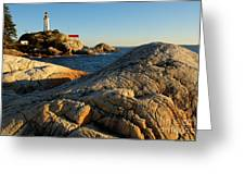 Point Atchison Lighthouse 1 Greeting Card