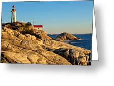 Point Atchison Lighthouse 2 Greeting Card