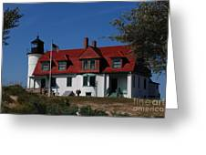 Point Betsie Light Station Greeting Card