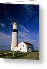 Point Lamour Lighthouse Greeting Card