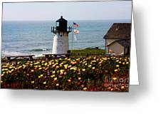 Point Montara Lighthouse Vista Greeting Card