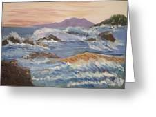 Point Reyes Storm Greeting Card by Al Steinberg