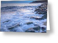 Point Shirley Surf Greeting Card