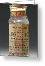 Poison Circa 1900 Greeting Card