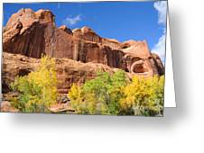 Poison Spider Mesa In The Fall Greeting Card by Gary Whitton