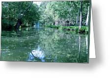 Poitevin Marsh Greeting Card