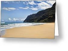 Polihale Beach Greeting Card