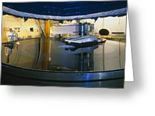 Polishing Of Mirror For Use In Gemini Telescope Greeting Card