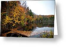 Pond On Limekiln Road II Greeting Card