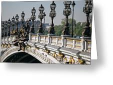 Pont Alexander IIi Greeting Card