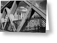 Pont Lafayette Paris Greeting Card