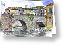Pont Neuf  Limouix France Greeting Card