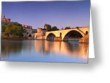 Pont St. Benezet Greeting Card