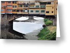 Ponte Vecchio 2 Greeting Card