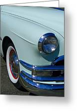 Pontiac Eight Greeting Card