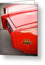 Pontiac Gto - The Judge Greeting Card