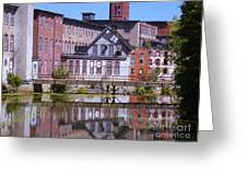 Pontiac Mills  2 Greeting Card