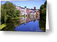 Pontiac Mills Overall 2 Greeting Card