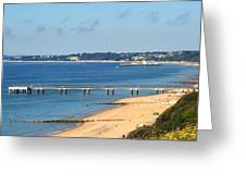 Poole Bay Greeting Card