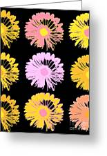 Pop Art Floral I -daisies -ii Greeting Card