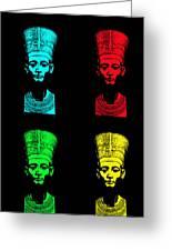 Pop Nefertiti Greeting Card