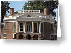 Poplar Forest Squared Greeting Card