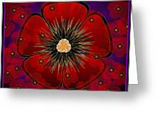 Poppies 2012 Greeting Card