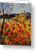 Poppies In Provence 456321 Greeting Card