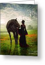 Poppy In The Field  Greeting Card