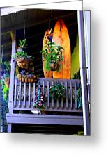 Porch Surf Greeting Card