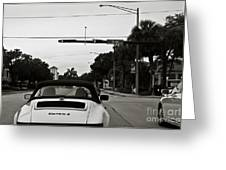 Porsche 911 Carrera 2 Greeting Card by Andrew  Cragin