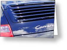 Porsche 911 Carrera S Greeting Card