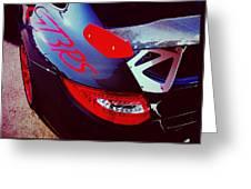 Porsche Gt3 Rs Back Corner Greeting Card
