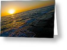Port Aransas Sunrise Greeting Card