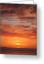 Port Henderson Sunset 2 Greeting Card