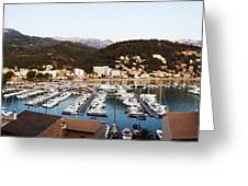 Port Of Soller Greeting Card
