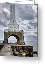 Port Washington Lighthouse Greeting Card